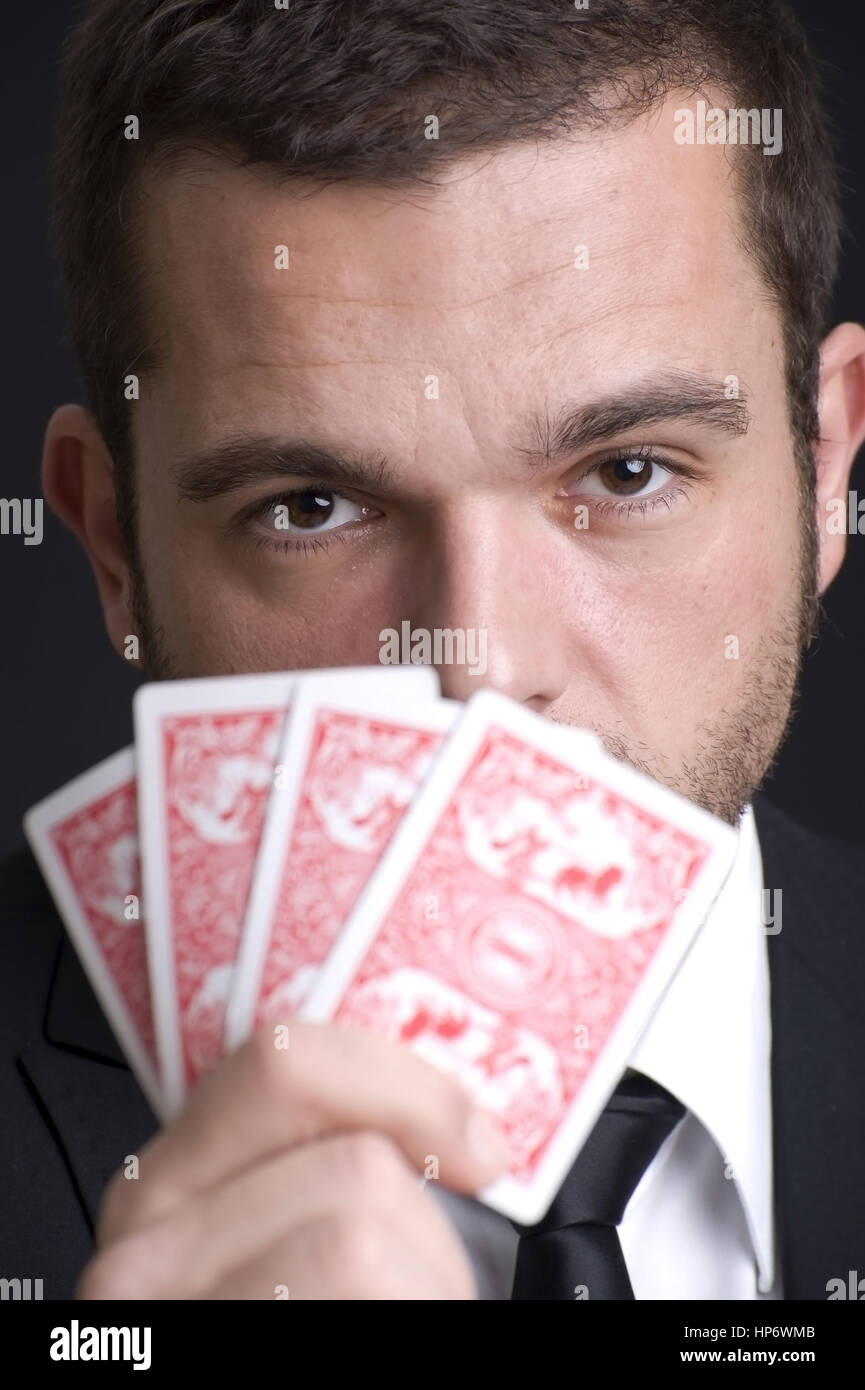 Rest Beim Kartenspiel