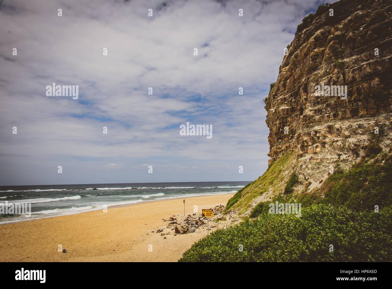 Nobby's Beach, Newcastle, Australia - Stock Image