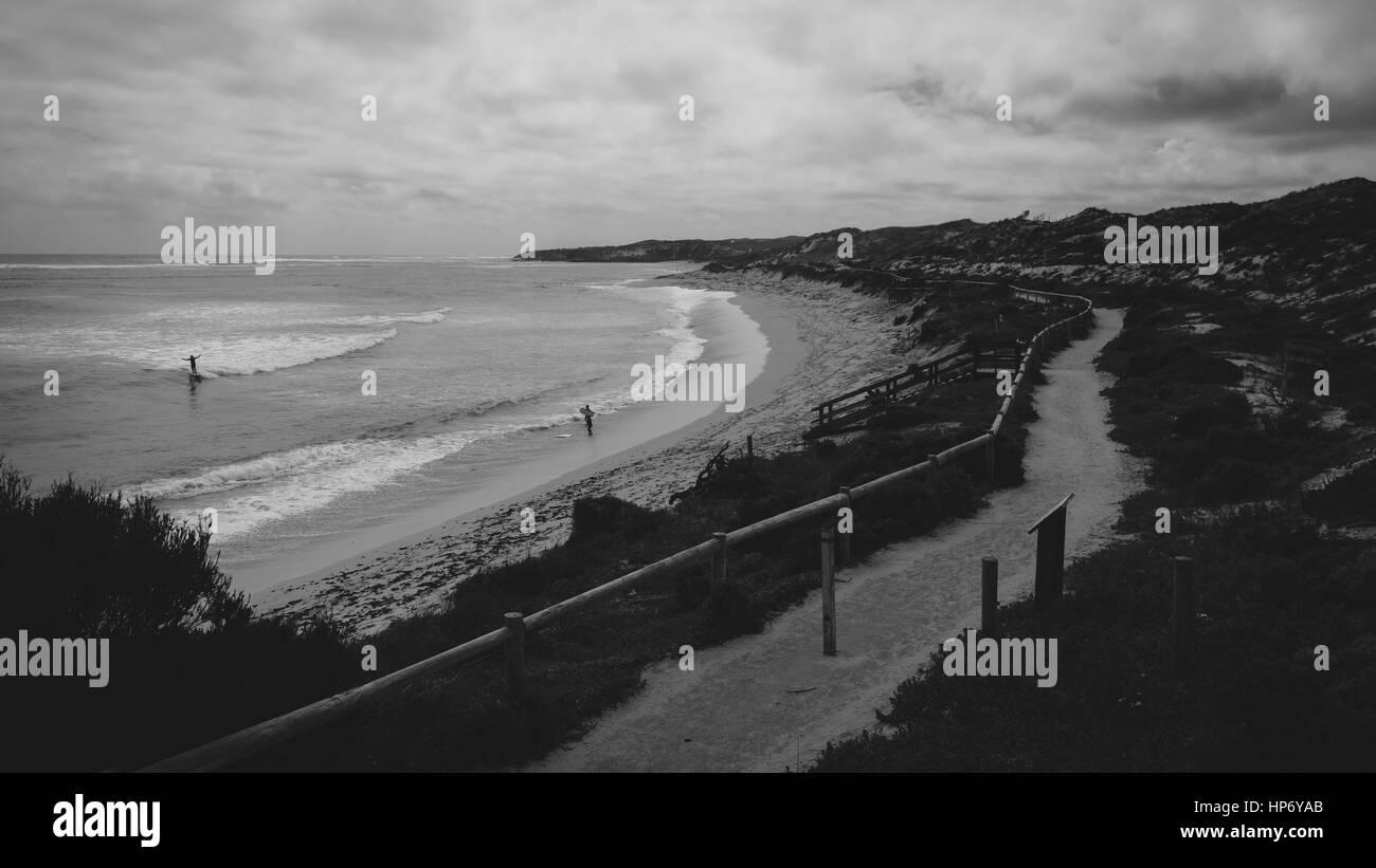 Gnarabup Beach, Western Australia - Stock Image