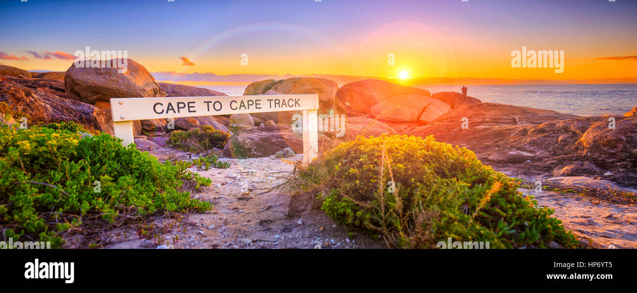 Cape To Cape Track - Stock Image