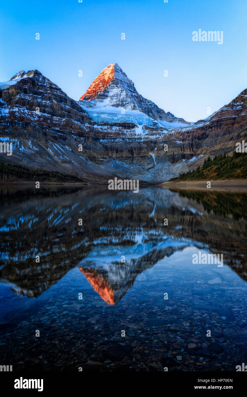 Mt Assinniboine Provincial Park, Canada - Stock Image