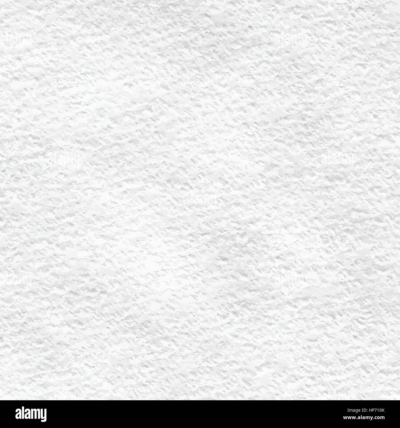 Vector High-Resolution Blank White Watercolor Paper Texture - Stock Image