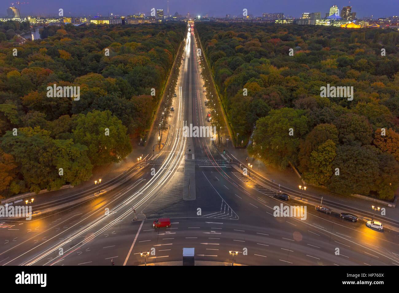 The Tiergarten - Stock Image