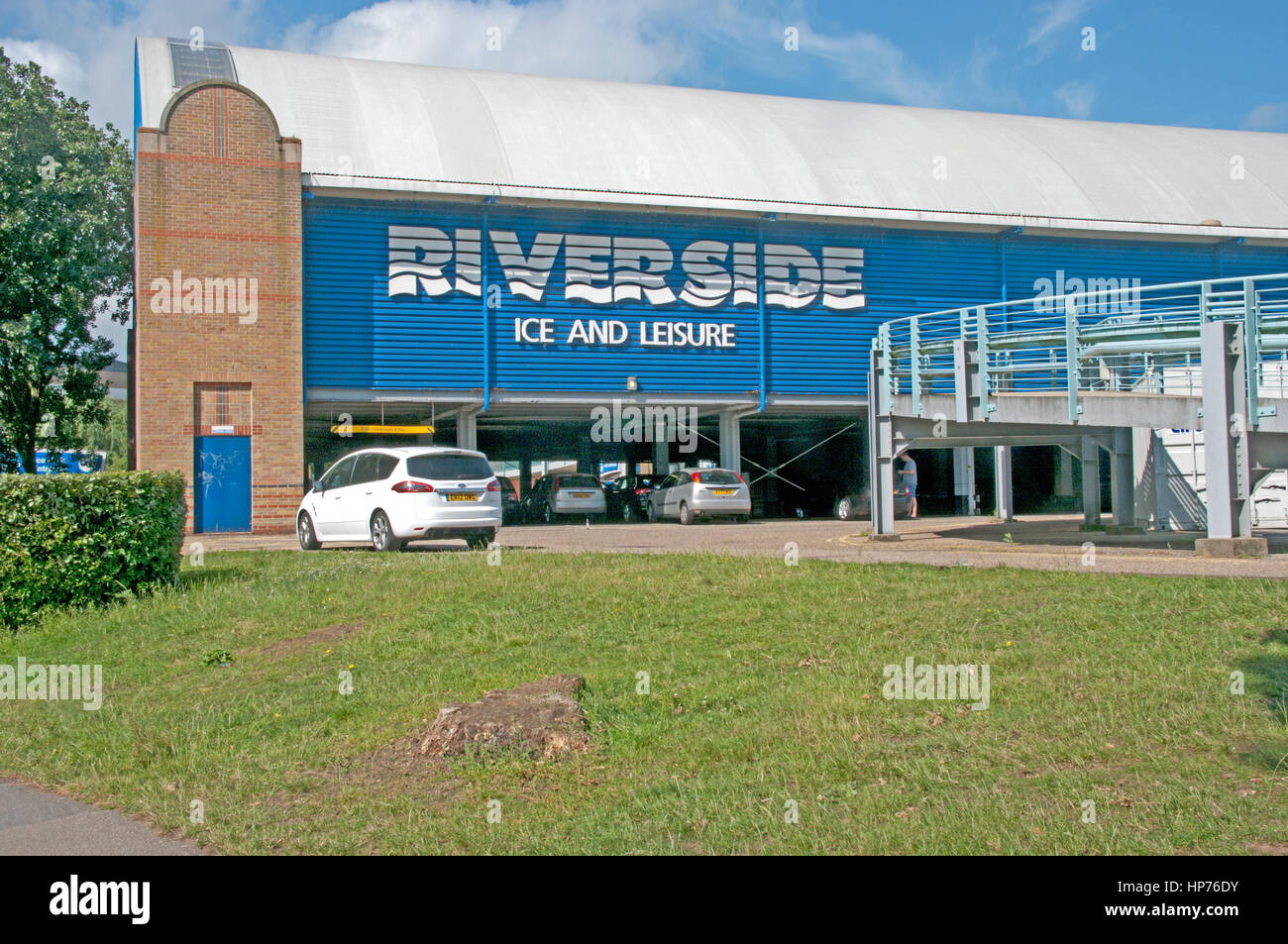 Chelmsford Riverside Leisure Centre And Ice Ring Essex Stock Photo 134153767 Alamy