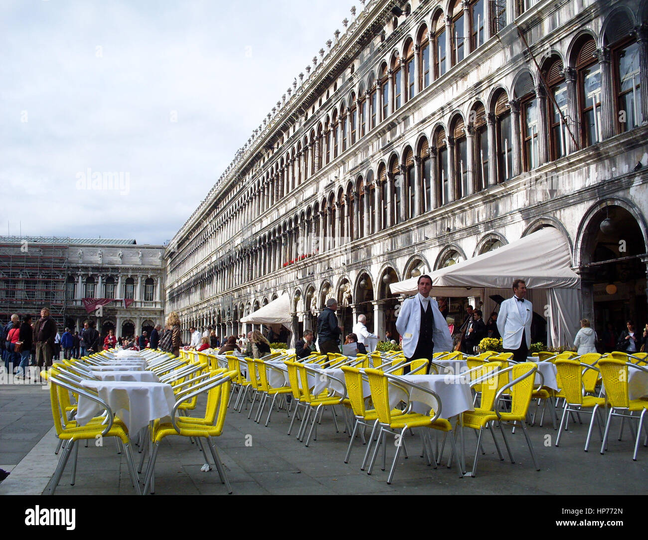 Piazza San Marco, Venice, Italy – October  04, 2008 - Stock Image