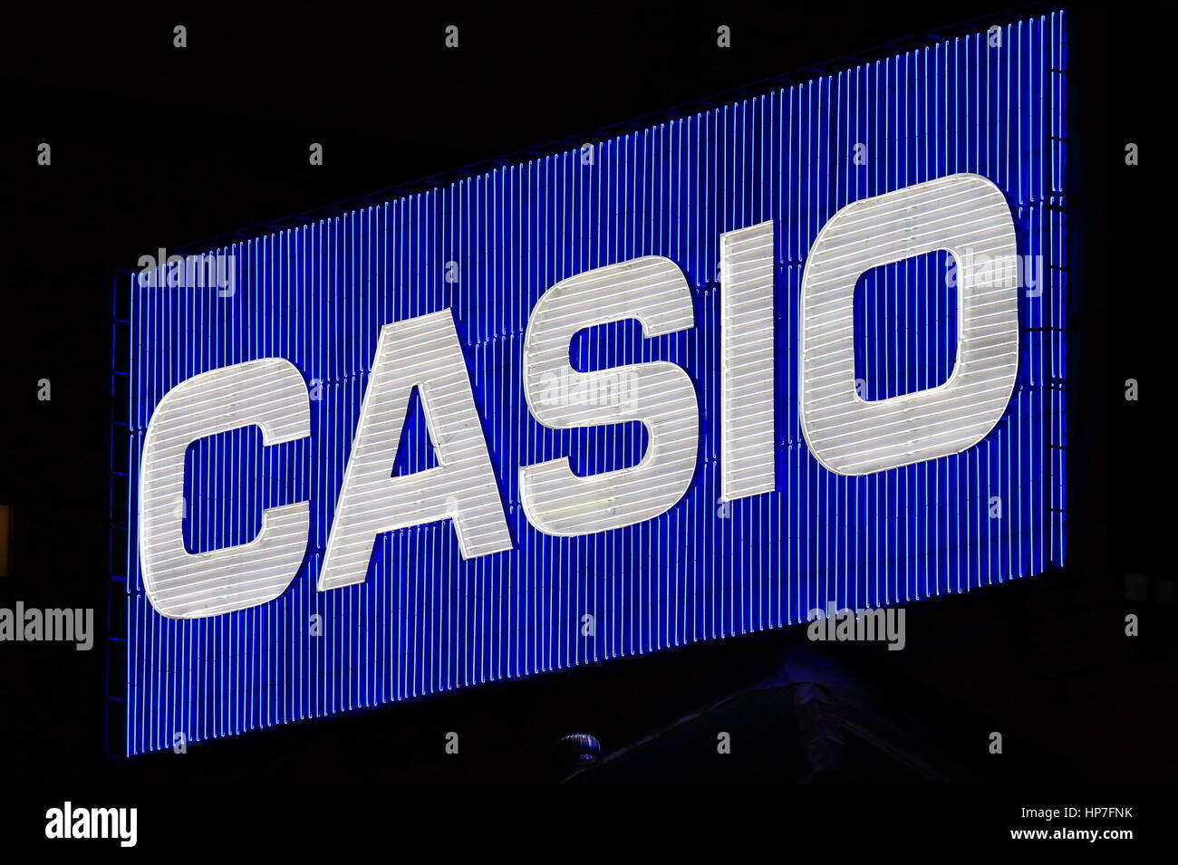 Casio. Casio is a Japanese multinational consumer electronics and commercial electronics manufacturing company - Stock Image
