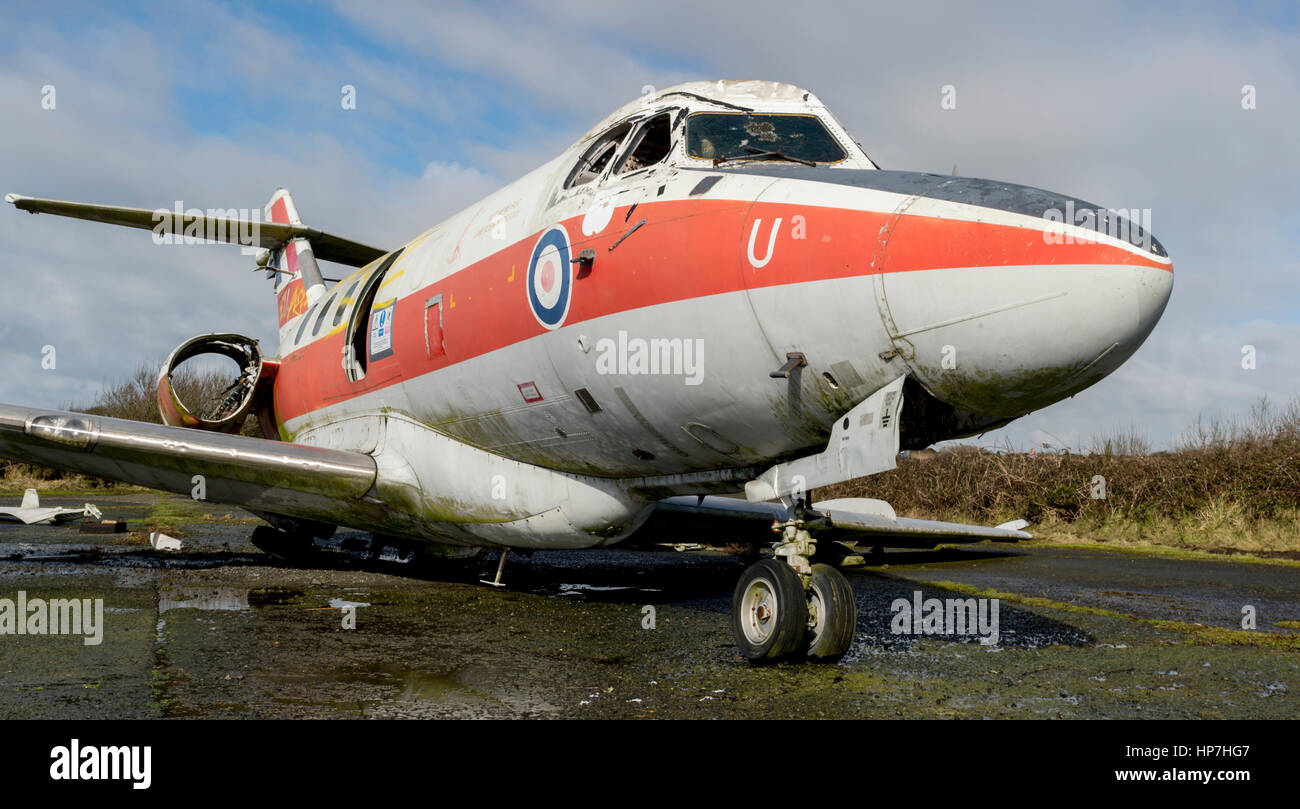 RAF Dominee T1 Airframe - Stock Image