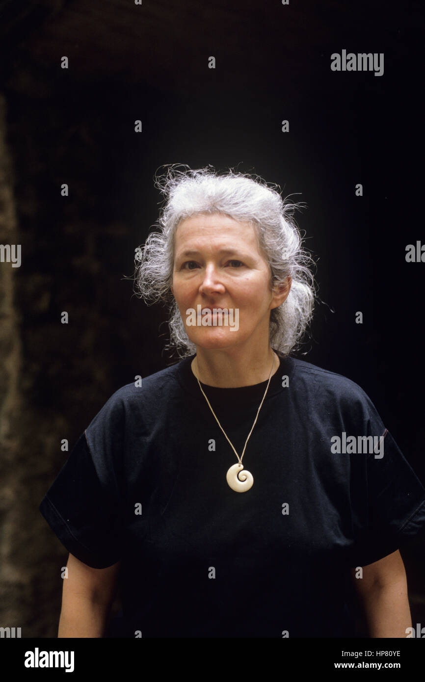 Portrait of Angela Carter 1989 ©Basso Cannarsa/Opale - Stock Image