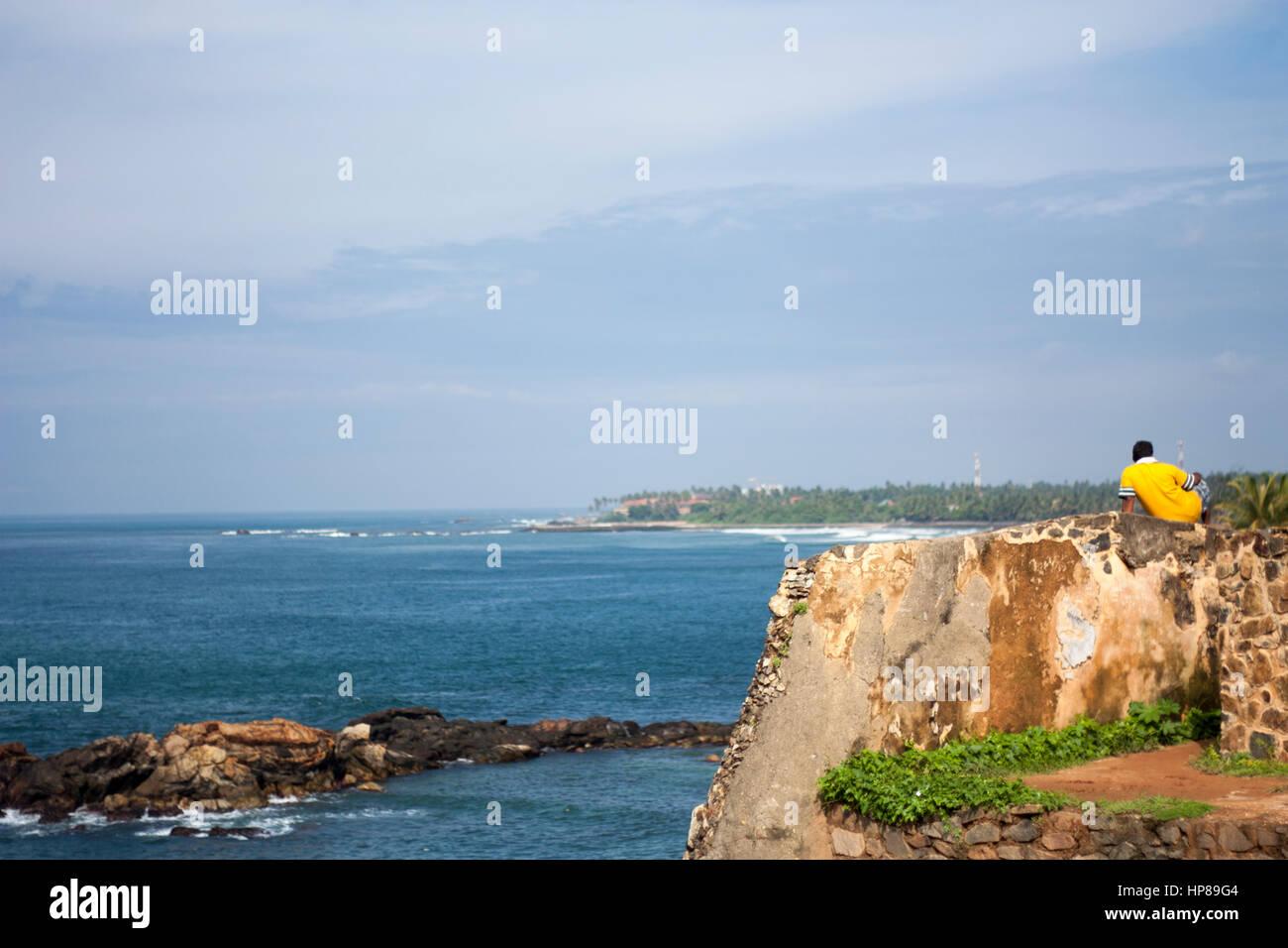 Galle, Sri Lanka. - Stock Image