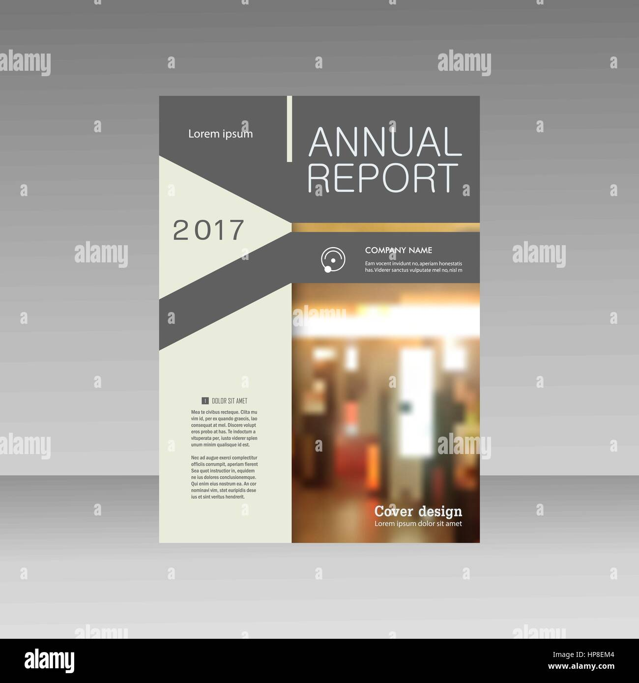 Brochure Template Business Vector Layout Cover Design Annual Report