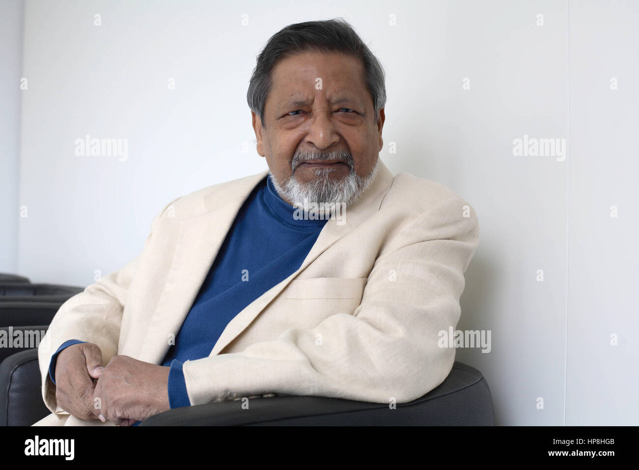 NAIPAUL Vidiadhar Surajprasad (VS ou V S) - Date : 20070626 ©Basso CANNARSA/Opale - Stock Image
