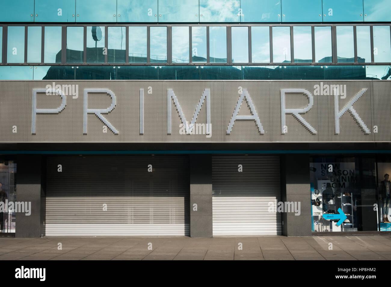 primark logo stock photos primark logo stock images alamy. Black Bedroom Furniture Sets. Home Design Ideas
