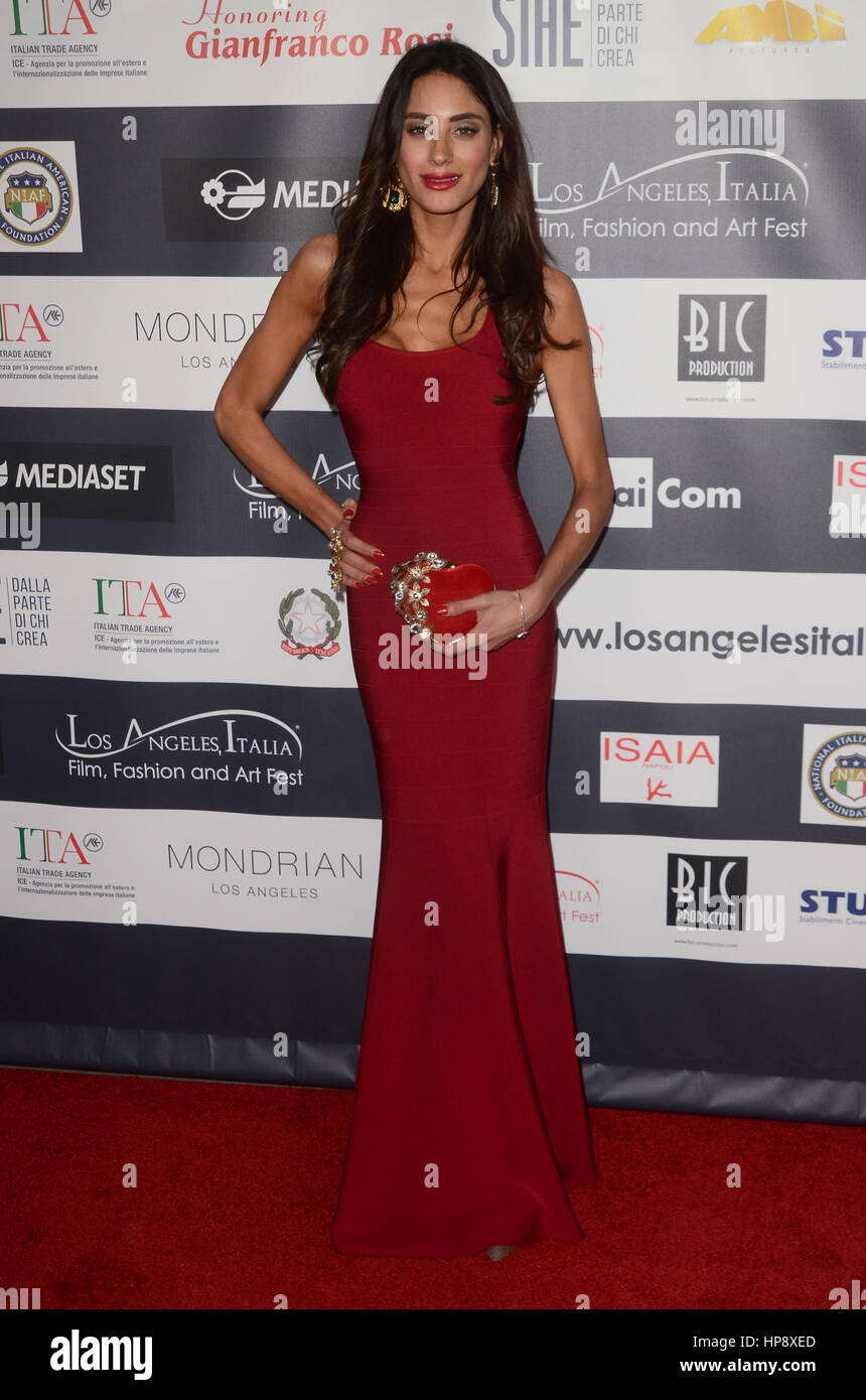 Hollywood, Ca. 19th Feb, 2017. Julia Lupetti at the 12th Edition of The Los Angeles Italia Film, Fashion and Art Fest at TCL Chinese 6 Theater on February 19, 2017 in Hollywood, California. Credit: David Edwards/Media Punch/Alamy Live News Stock Photo