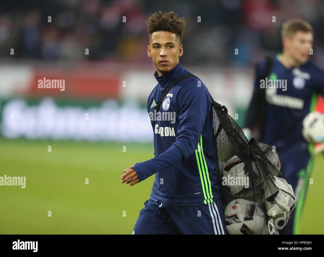 Cologne, Germany, February 19, 2017, Bundesliga matchday 21, 1. FC Koeln - FC Schalke 04:  Thilo Kehrer (Schalke). - Stock Image