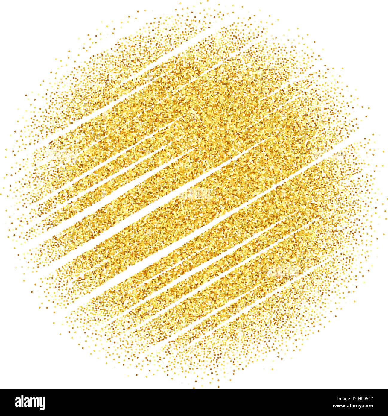 vector gold glitter wave abstract background golden sparkles on