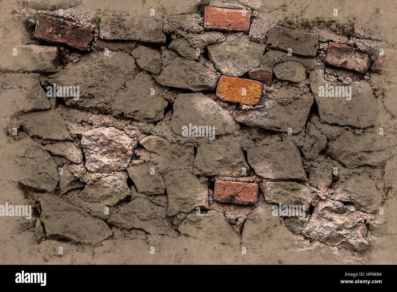 Brick Wall Abstract Background With Bricks Texture For Different