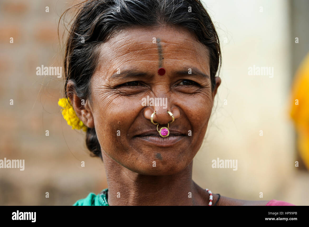 Gold Nose Ring High Resolution Stock Photography And Images Alamy