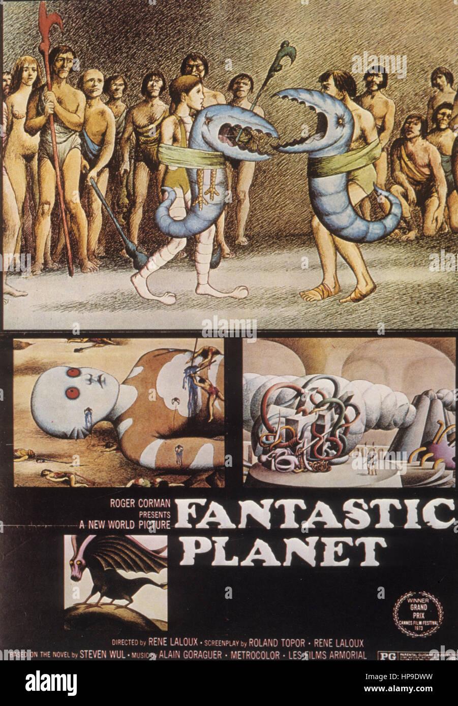 fantastic planet,1973 - Stock Image