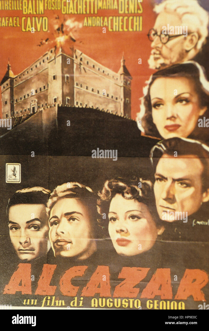 l'assedio dell'alcazar,1940 - Stock Image
