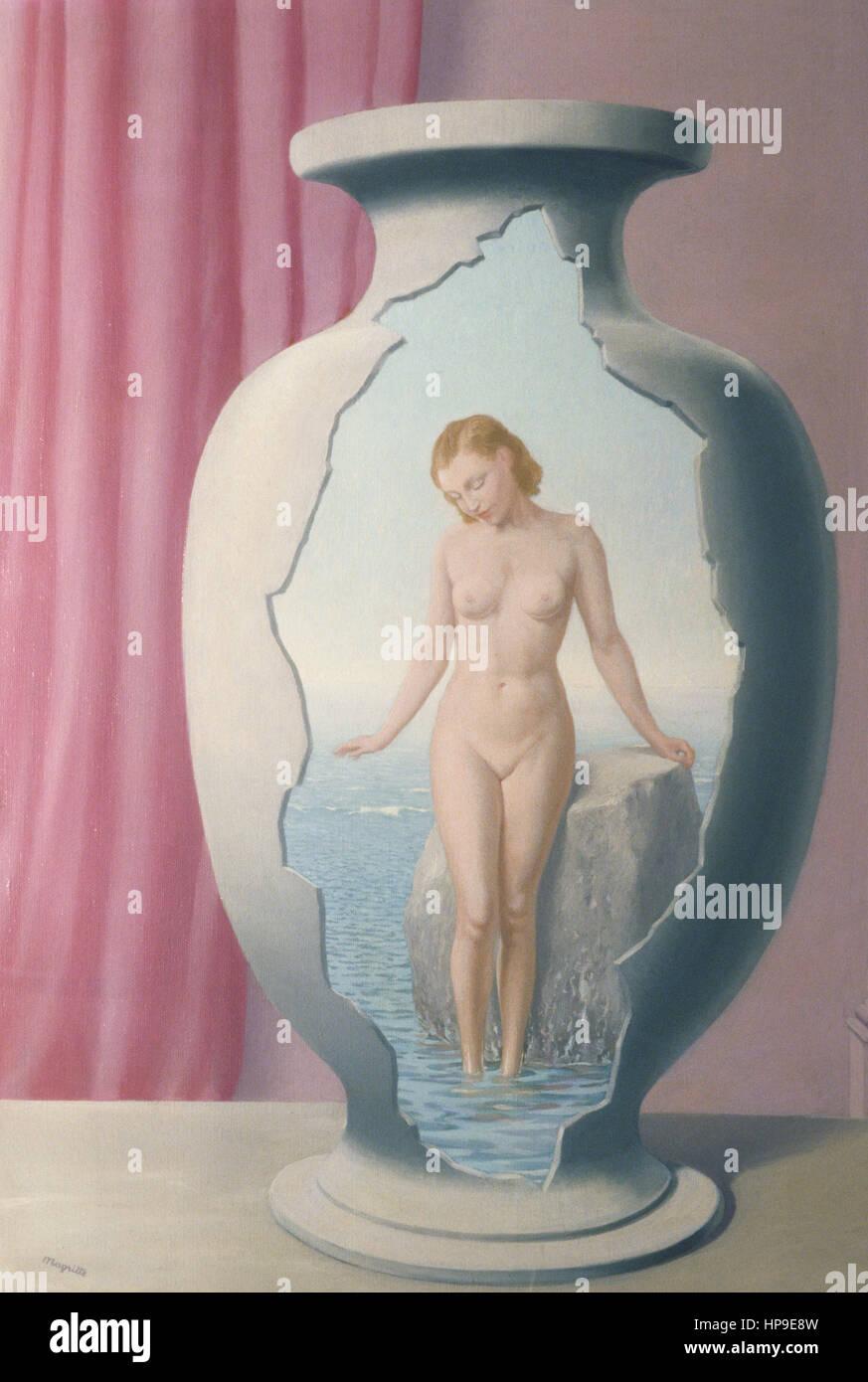 l'orient,rené magritte,1940 - Stock Image