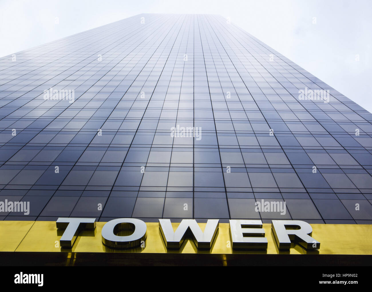 Wolkenkratzer, Trump Tower, New York, USA Stock Photo