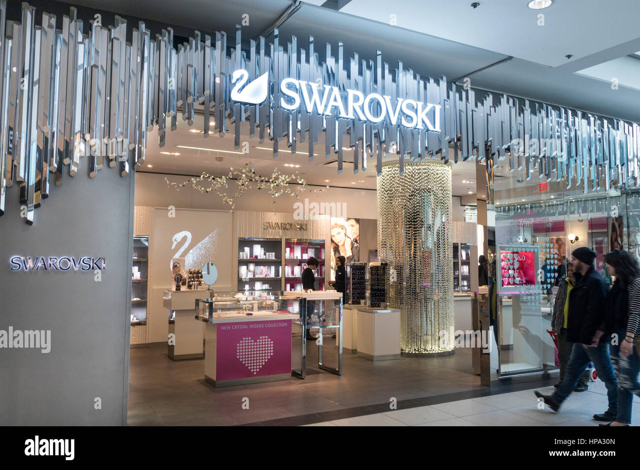 Swarovski Store High Resolution Stock Photography and Images - Alamy