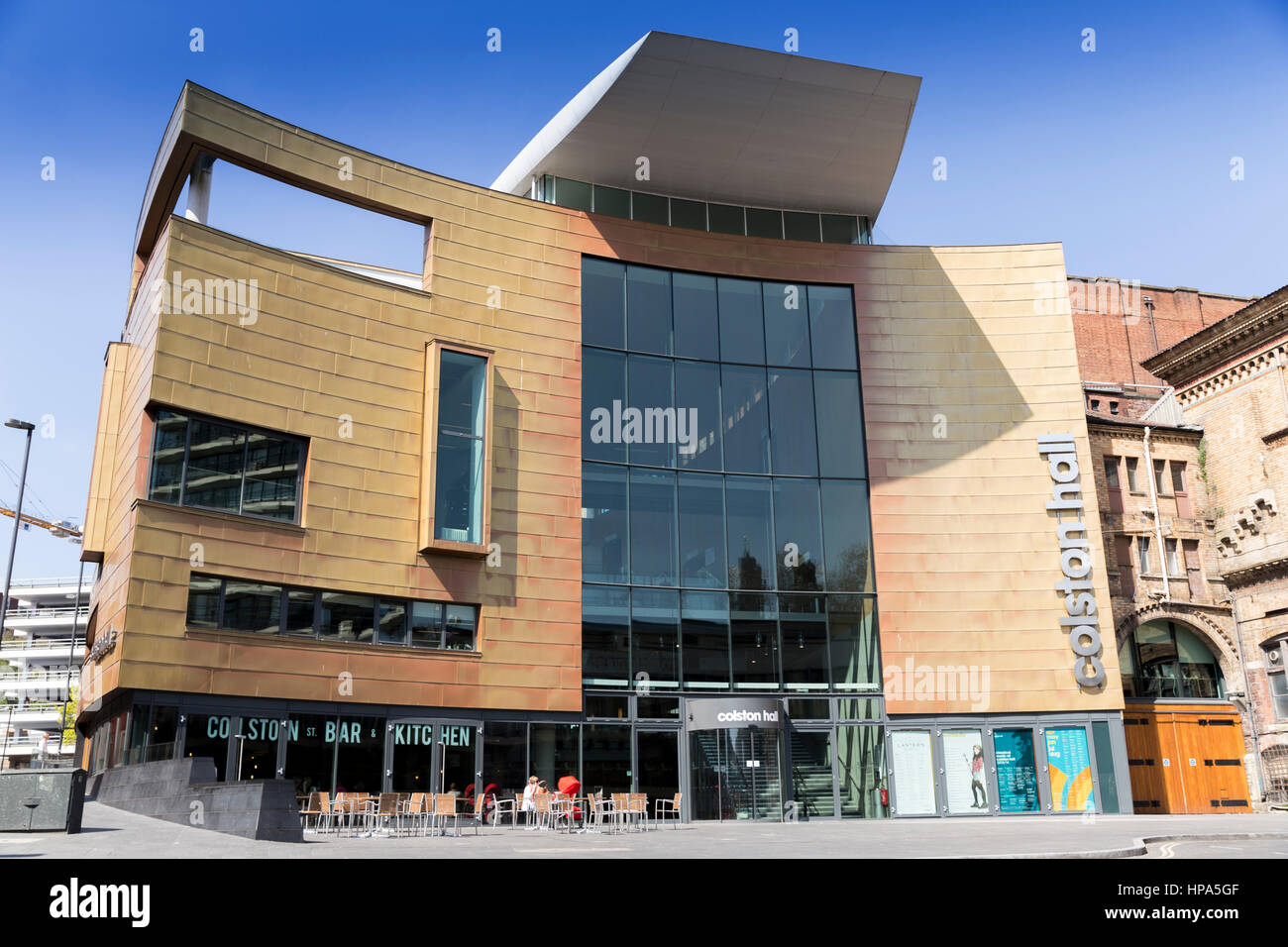 Colston Concert Hall Bristol England UK - Stock Image