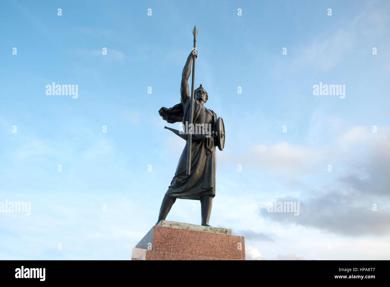 Palais du peuple Djibouti, East Africa (People's Palace statue) - Stock Image