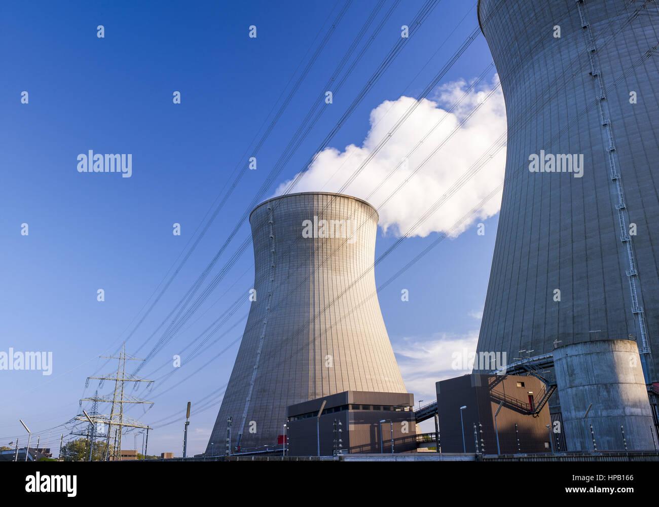 Kernkraftwerk Gundremmingen - Stock Image