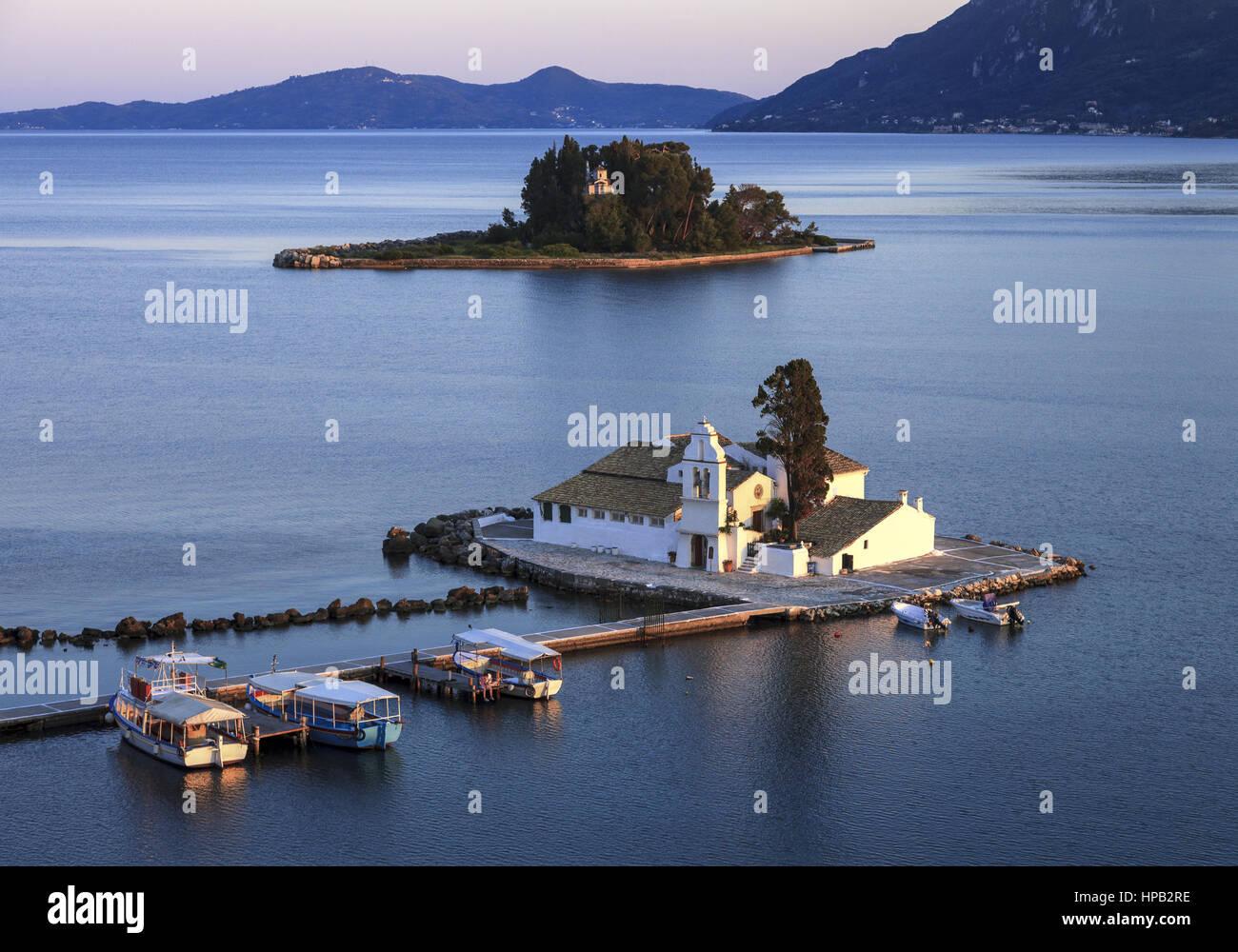 Griechische Inseln, Korfu - Stock Image