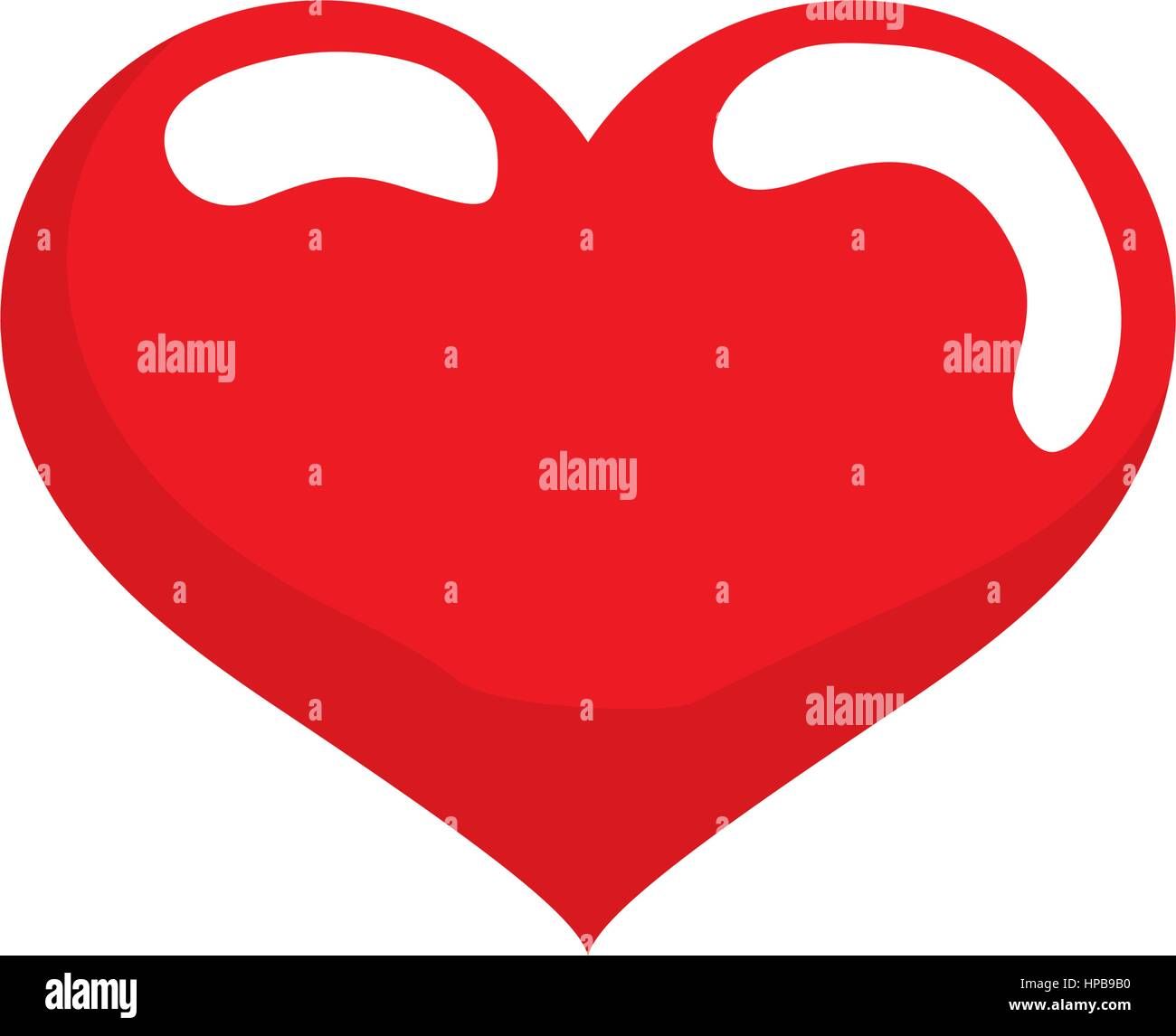 Love and romanticism Stock Vector