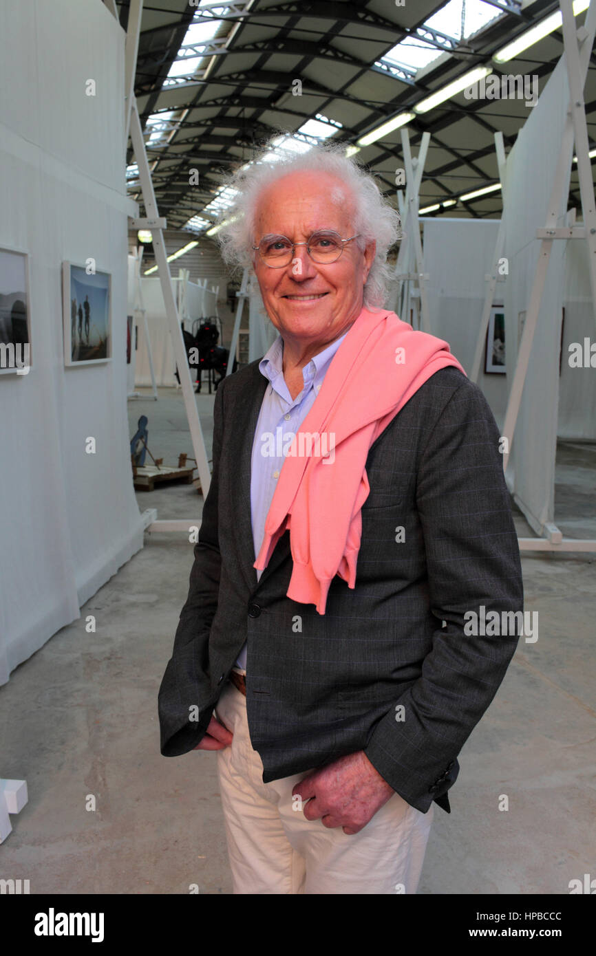Portrait of Luciano Benetton 09/05/2015 ©Basso Cannarsa/Opale - Stock Image
