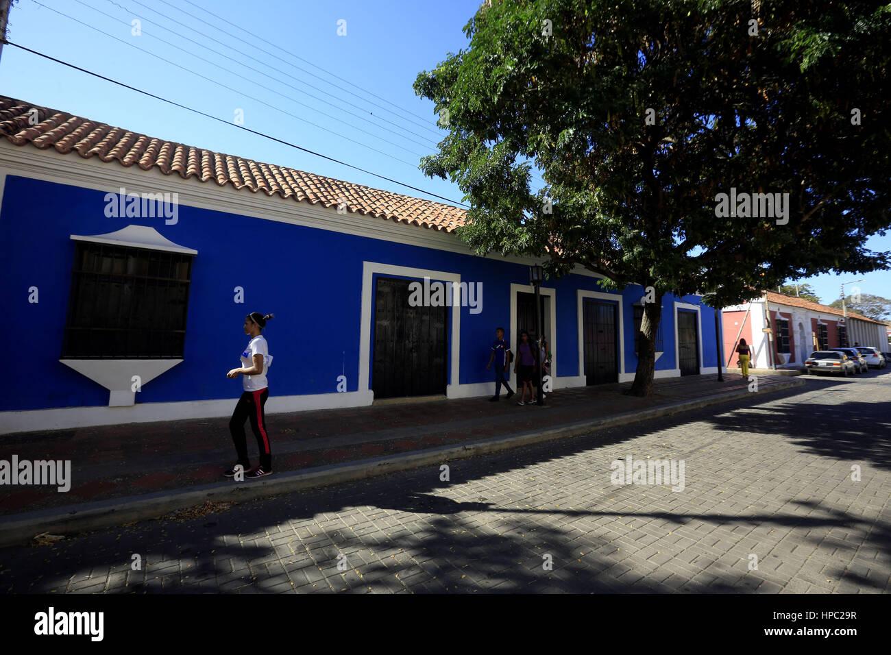 Santa Ana De Coro, Falcon, Venezuela. 17th Feb, 2017. La ciudad de Santa Ana de Coro, mejor conocida como Coro, - Stock Image