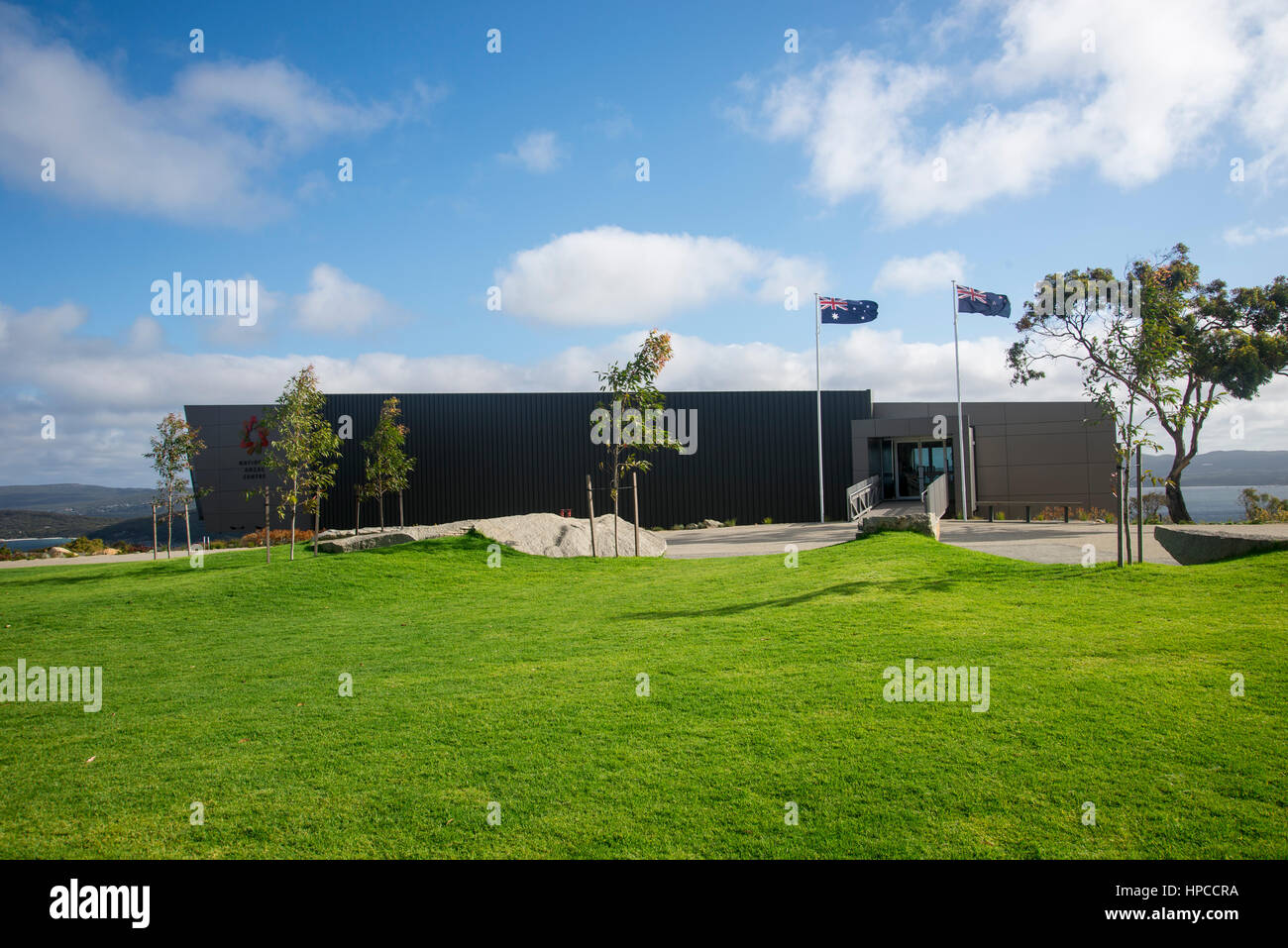 National ANZAC Centre on top of Mount Clarence in Anzac Heritage Park in Albany - Stock Image
