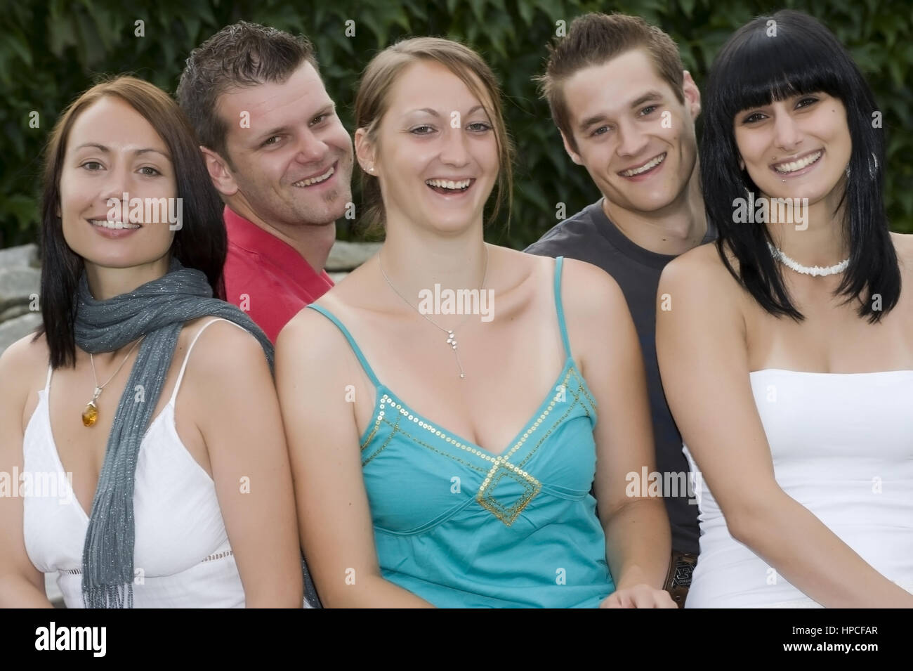 Junge Leute, 20+ - young people - Stock Image