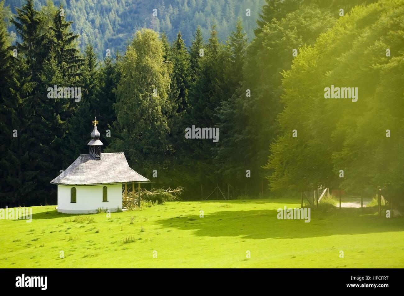 Kapelle am Elfenberg, Mautern, Steiermark, oesterreich - chapel, Elfenberg, Mautern, Styria, Austria Stock Photo