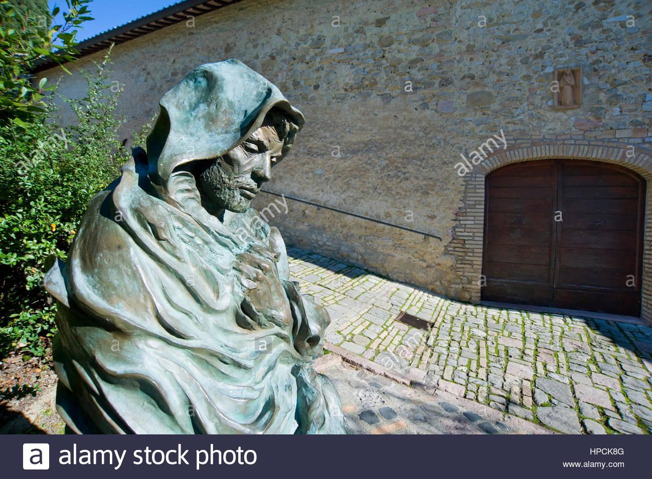 Shrine of St. Damian,Assisi,Umbria,Italy - Stock Image