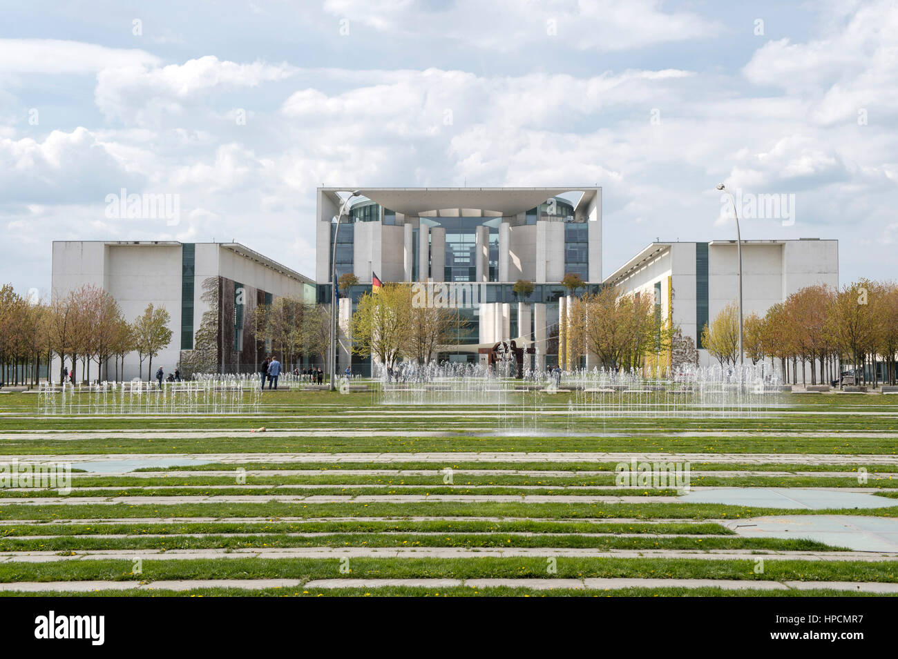 Germany,Berlin,Bundeskanzleramt Stock Photo