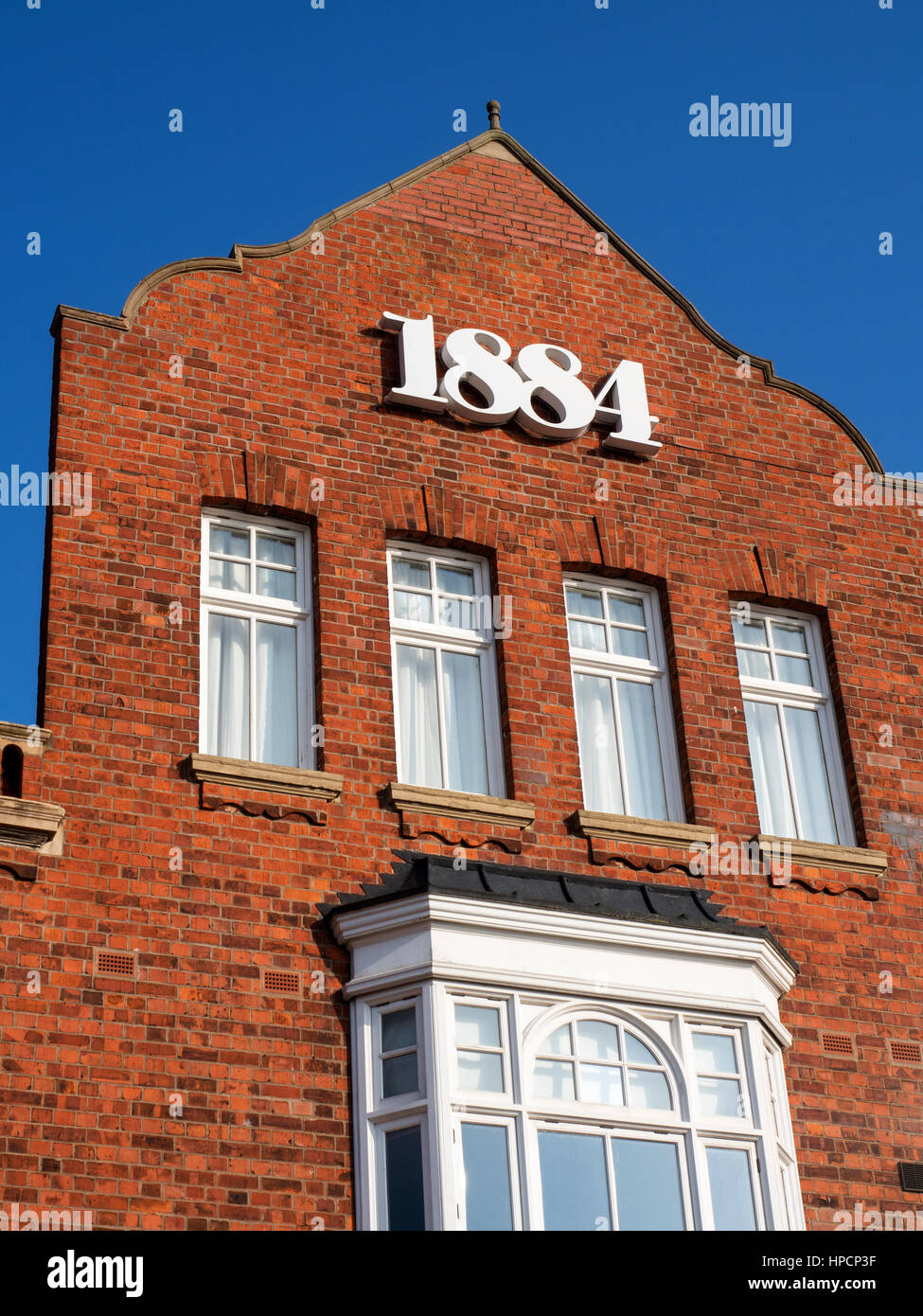 Hessle Gate Buildings Former Rope Factory now a Restaurant on Humber Dock Street Hull Yorkshire England - Stock Image