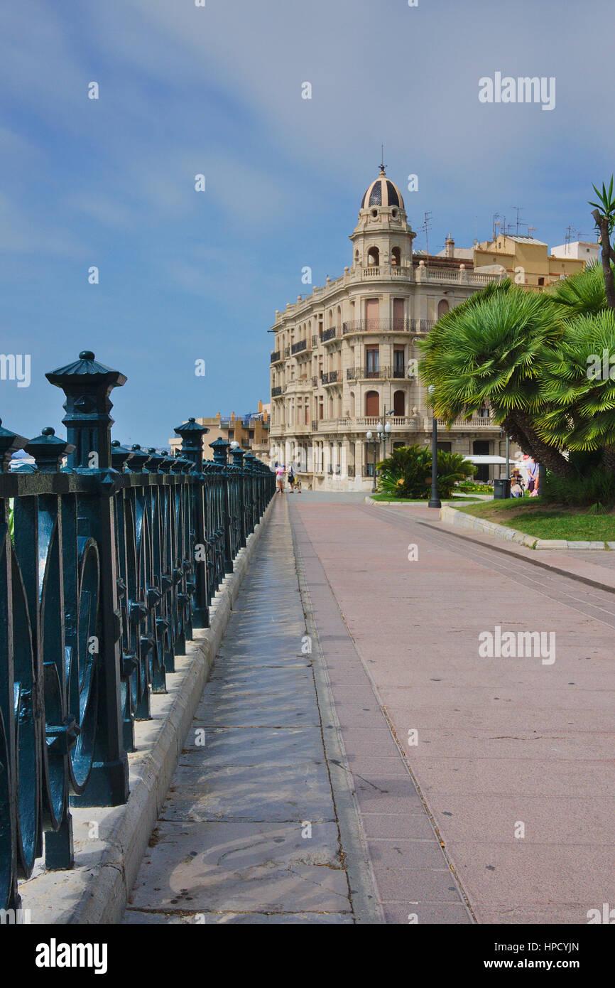 Balcon de Mediterraneo,Tarragona - Stock Image