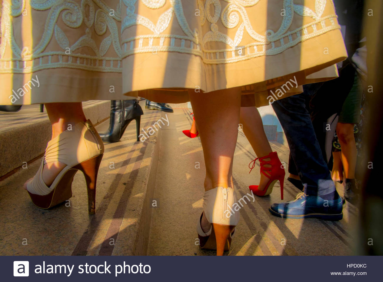 milan fashion week,arengario,milan - Stock Image