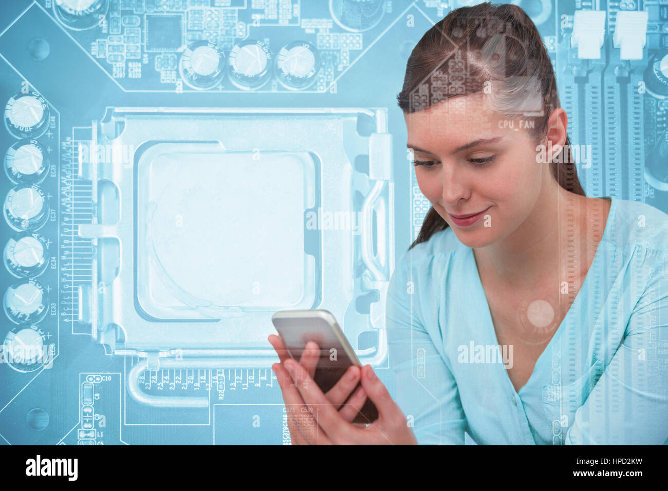 Circuit Boards From Various Mobile Phones Photograph Alamy