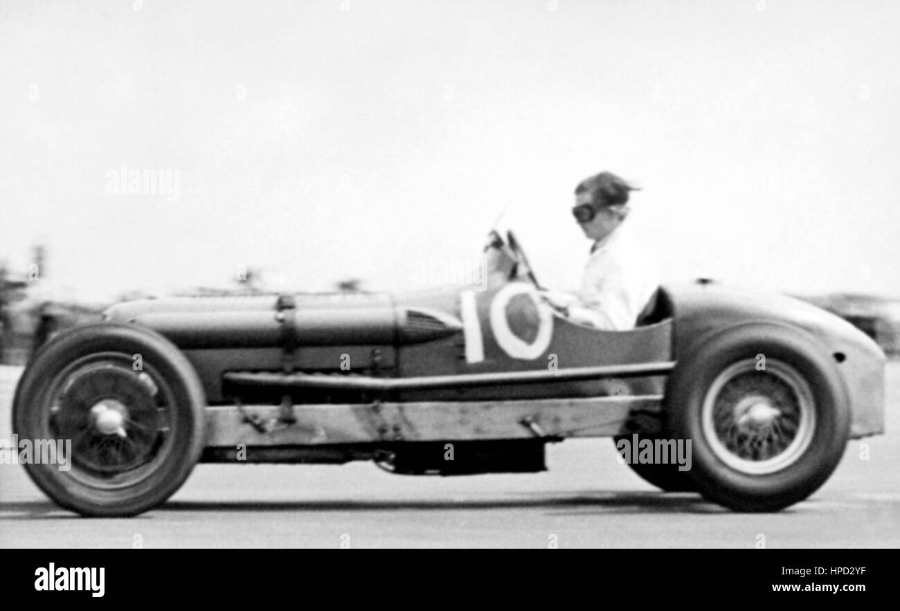 1950 Racing Special Silverstone - Stock Image