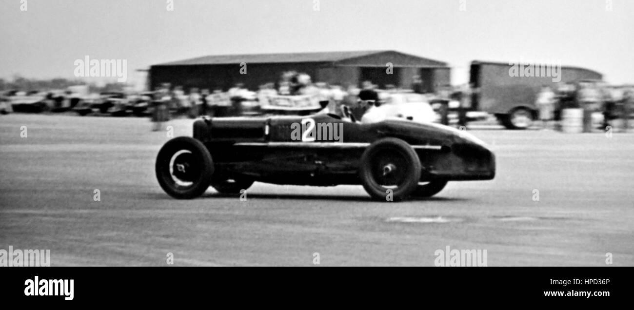 1950s Sunbeam GP Silverstone - Stock Image