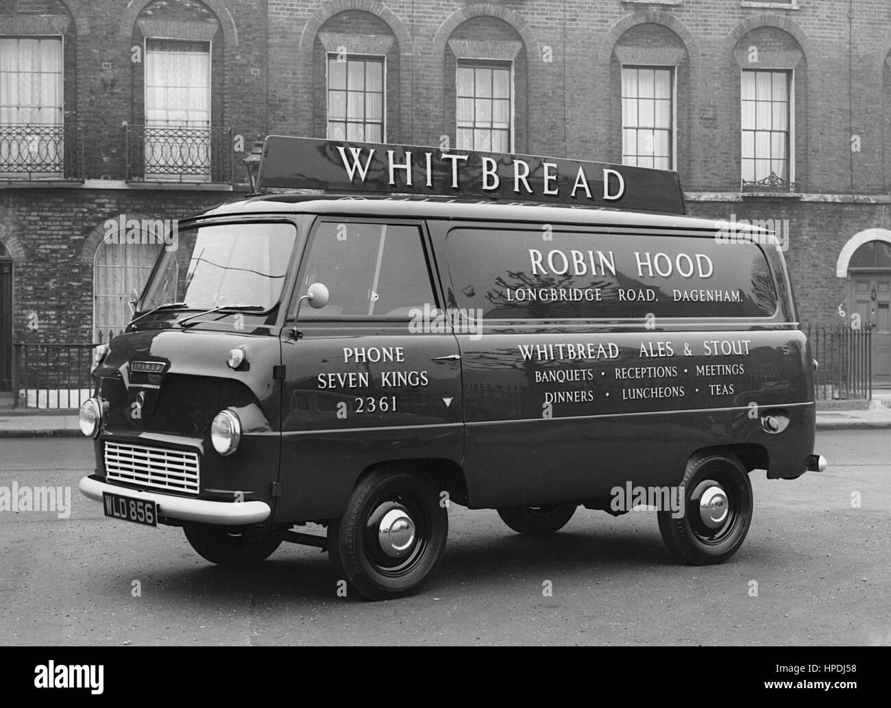 Ford Thames 15cwt 400e van 1958 Stock Photo