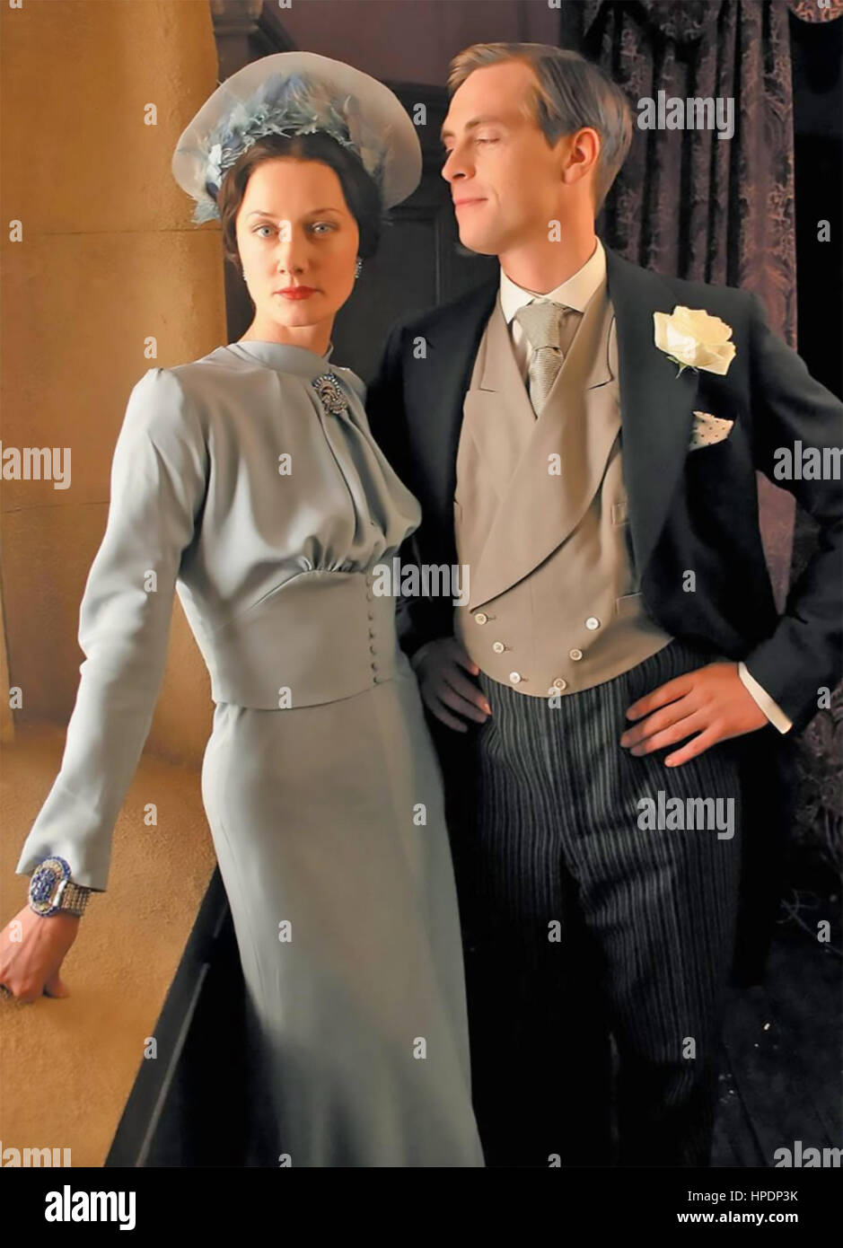 WALLIS & EDWARD 2005 Atlantic Film Productions movie with Joely Richardson and Stephen Campbell Moore - Stock Image