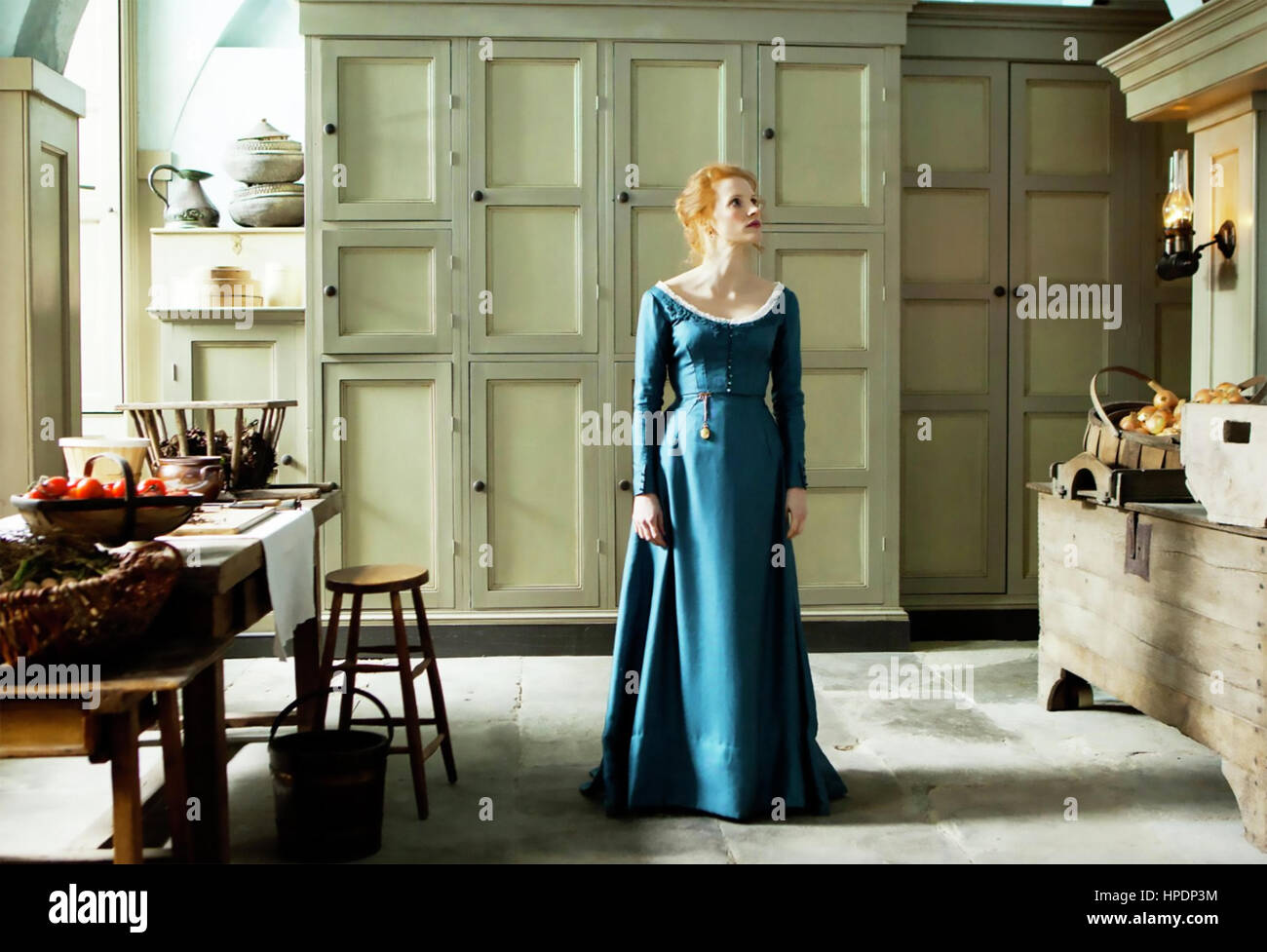 MISS JULIE 2014 Maipo Film production with Jessica Chastain Stock Photo