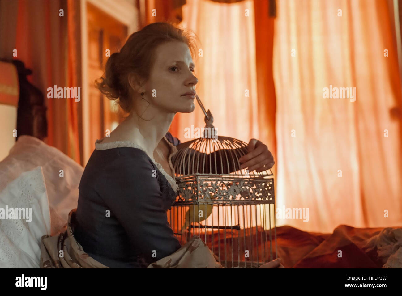 MISS JULIE 2014 Maipo Film production with Jessica Chastain - Stock Image