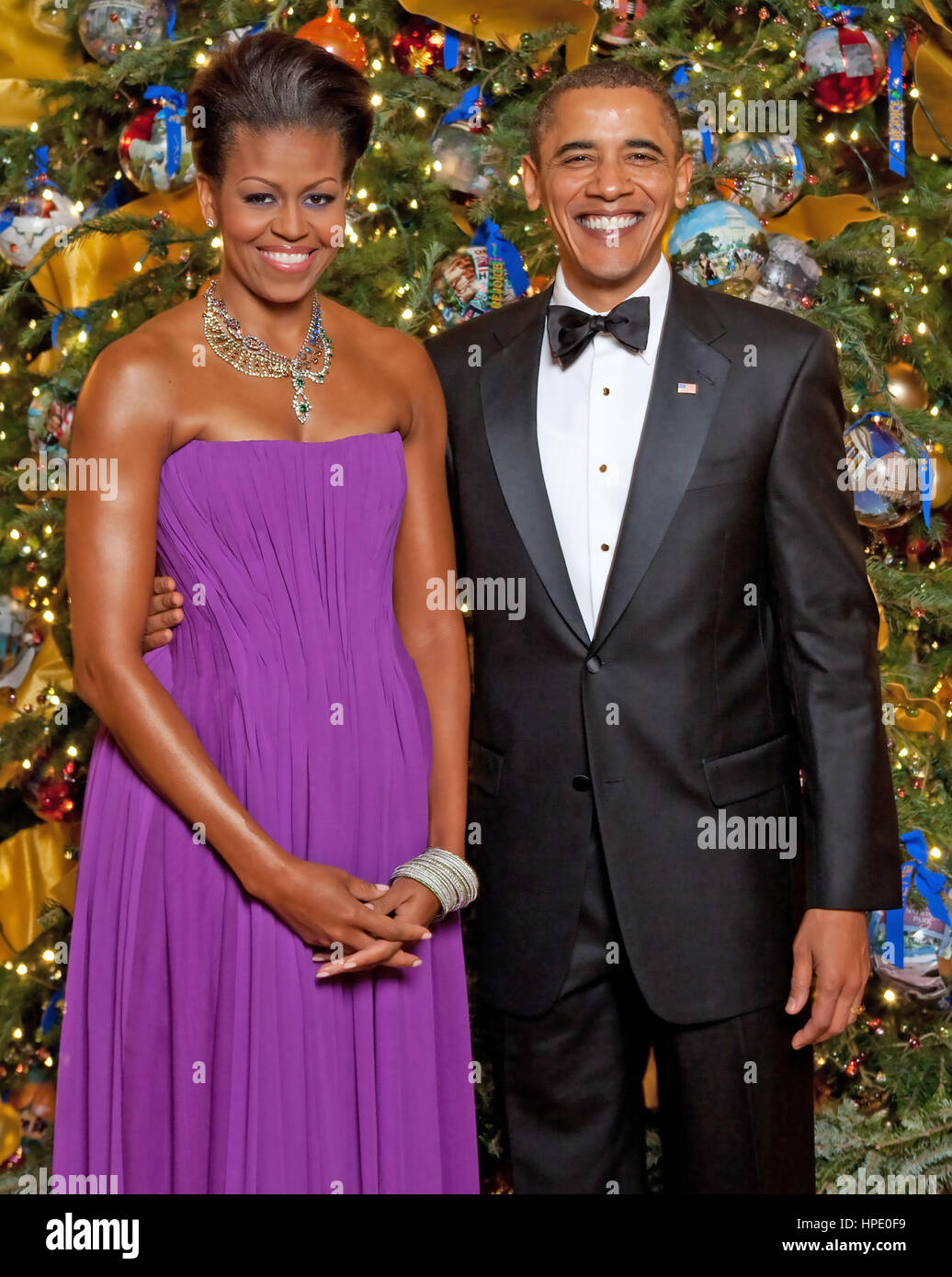 President Obama Christmas Stock Photos & President Obama Christmas ...
