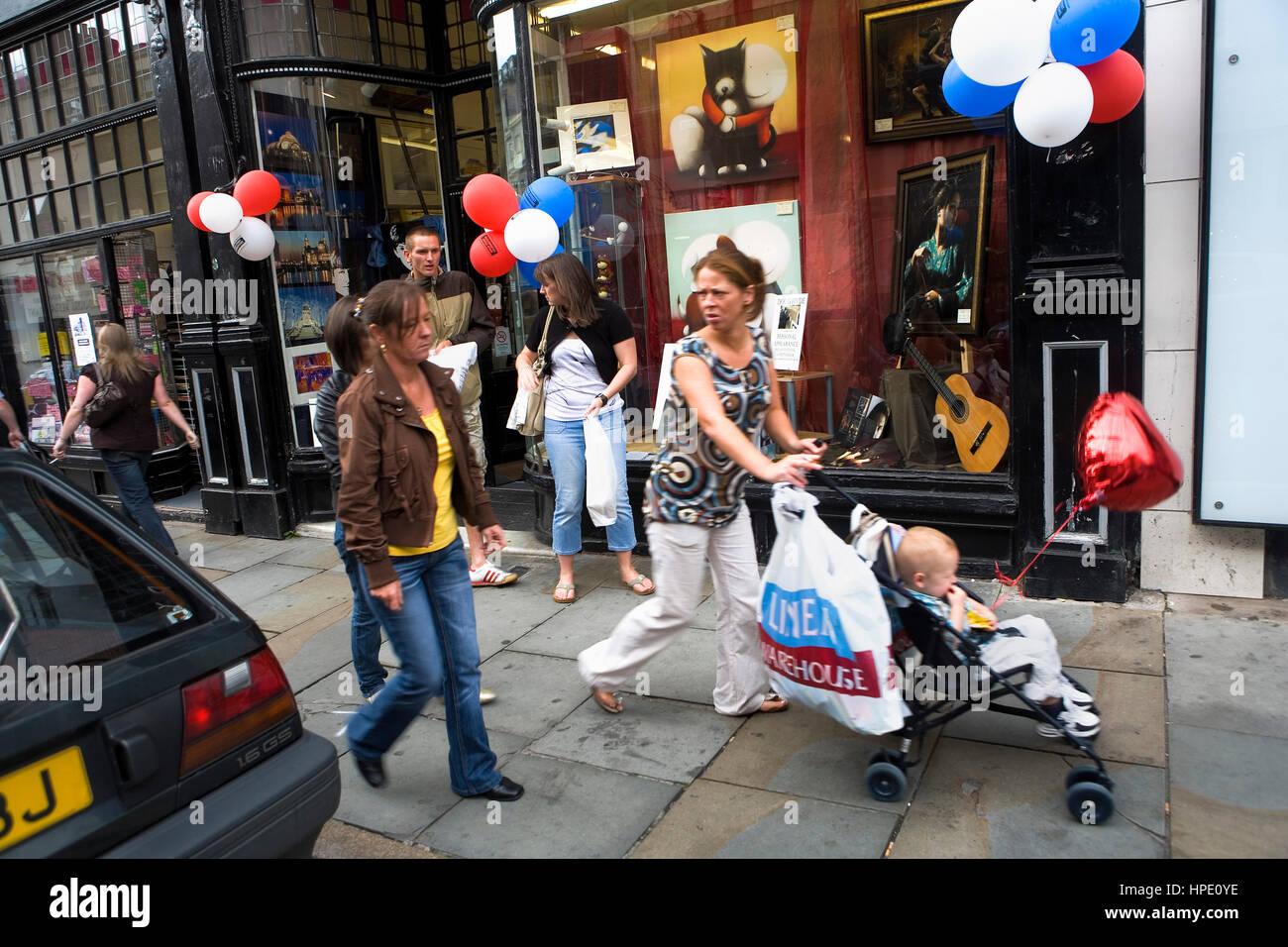 Rennies, arts & crafts. 61-63 Bold Street. Liverpool. England. UK - Stock Image
